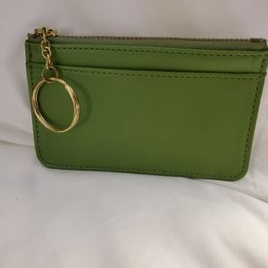 Vintage Coach Zip ID/Key Case